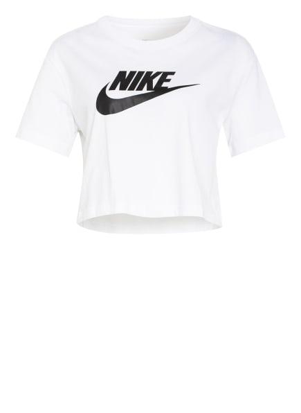 Nike Cropped-Shirt SPORTSWEAR ESSENTIAL, Farbe: WEISS/ SCHWARZ (Bild 1)