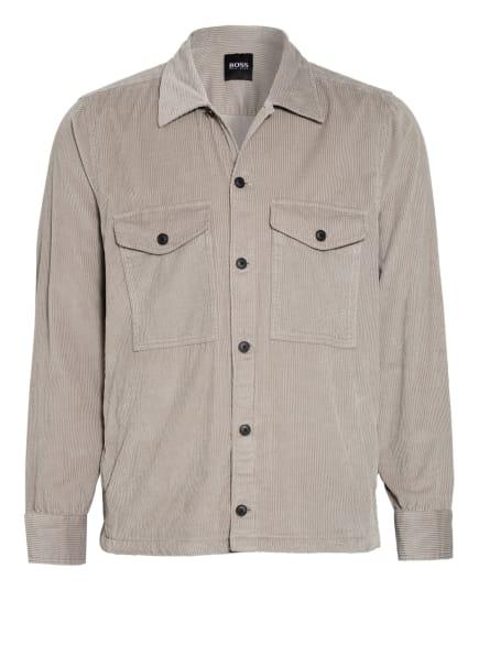 BOSS Cord-Overjacket, Farbe: GRAU (Bild 1)