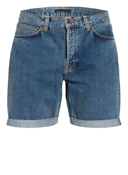 Nudie Jeans Jeans-Shorts JOSH, Farbe: Friendly Blue Denim (Bild 1)