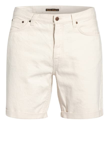 Nudie Jeans Jeans-Shorts JOSH, Farbe: Dusty White Offwhite (Bild 1)