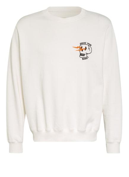 Nudie Jeans Sweatshirt LASSE, Farbe: WEISS (Bild 1)