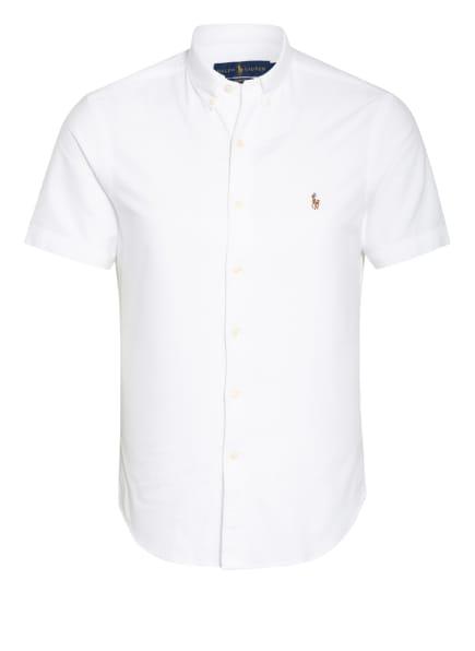 POLO RALPH LAUREN Kurzarm-Hemd Slim Fit, Farbe: WEISS (Bild 1)