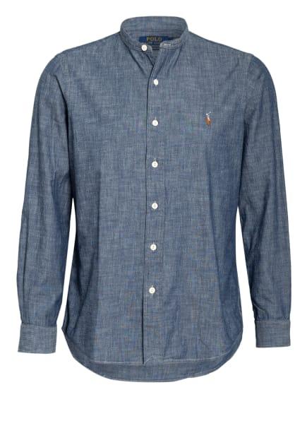 POLO RALPH LAUREN Hemd Classic Fit mit Stehkragen , Farbe: DUNKELBLAU (Bild 1)