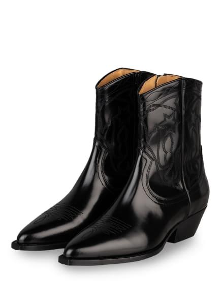 sandro Cowboy Boots, Farbe: SCHWARZ (Bild 1)