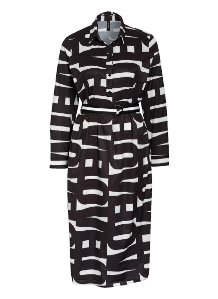 MARC CAIN Kleid, Farbe: 910 black and white (Bild 1)