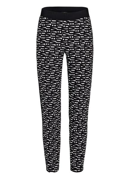 MARC CAIN 7/8-Hose mit Galonstreifen, Farbe: 190 white and black (Bild 1)