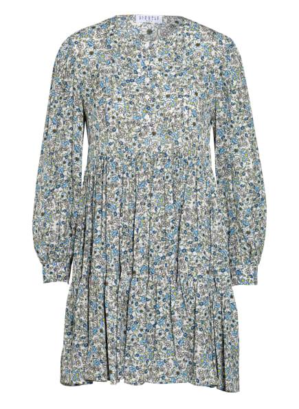 CLAUDIE PIERLOT Kleid RANIA, Farbe: CREME/ HELLBLAU/ HELLGRÜN (Bild 1)