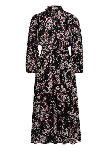 CLAUDIE PIERLOT Kleid RIVKA, Farbe: SCHWARZ/ WEISS/ PINK (Bild 1)