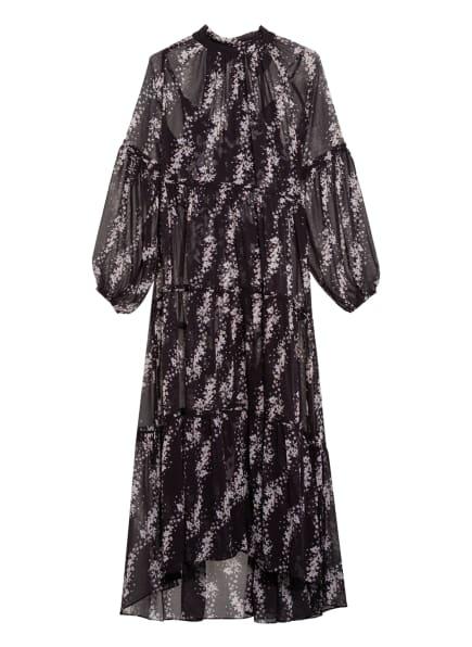 ALL SAINTS Kleid EIMEAR, Farbe: SCHWARZ/ WEISS/ ROSA (Bild 1)