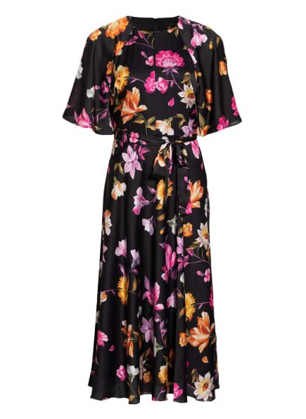 TED BAKER Kleid OSSIEE, Farbe: SCHWARZ/ ORANGE/ PINK (Bild 1)