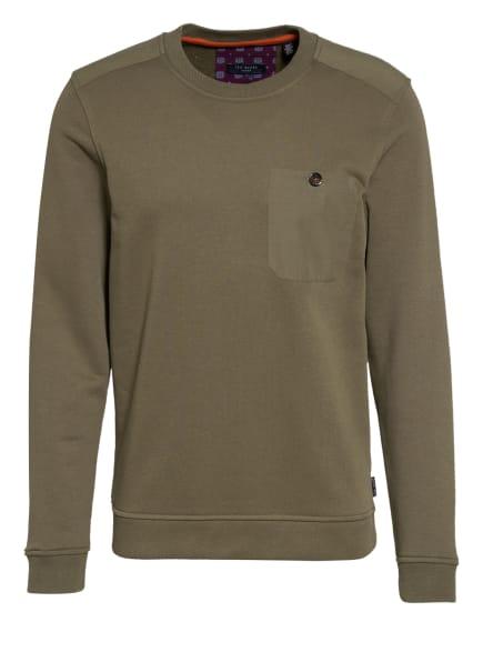 TED BAKER Sweatshirt SINGER, Farbe: OLIV (Bild 1)