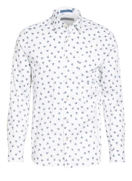TED BAKER Hemd COSTAR Slim Fit, Farbe: WEISS/ DUNKELBLAU (Bild 1)