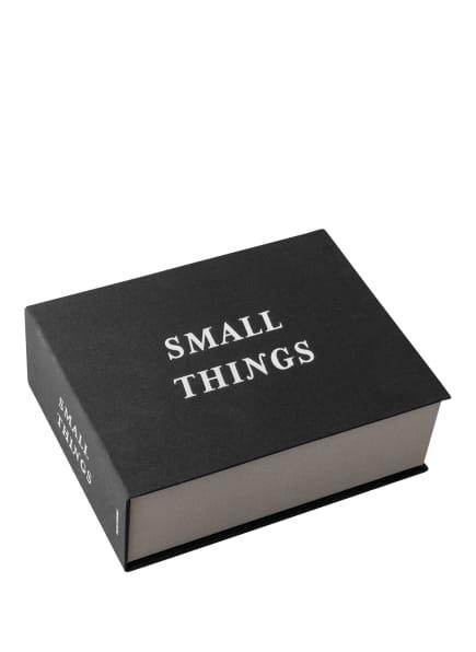 PRINTWORKS Aufbewahrungsbox SMALL THINGS, Farbe: SCHWARZ/ SILBER (Bild 1)