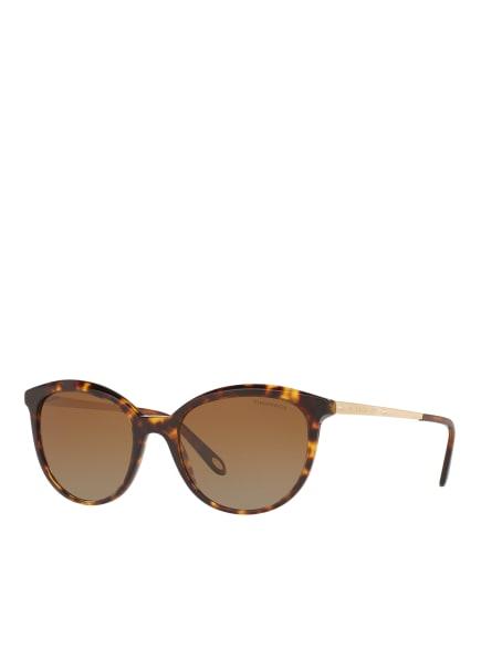 TIFFANY & Co. Sunglasses Sonnenbrille TF4117B, Farbe: 8015T5 - HAVANA/ BRAUN VERLAUF (Bild 1)