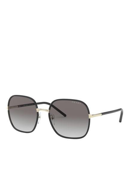 PRADA Sonnenbrille PR 67XS, Farbe: AAV0A7 - SCHWARZ/ BRAUN VERLAUF (Bild 1)