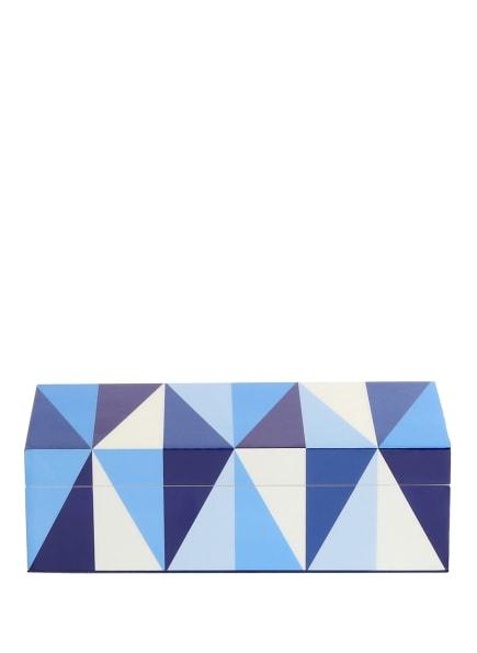 JONATHAN ADLER Aufbewahrungsbox SORRENTO SMALL, Farbe: BLAU/ WEISS/ HELLBLAU (Bild 1)