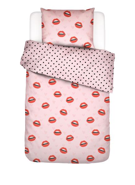 COVERS & CO Bettwäsche KISS MY SASS zum Wenden, Farbe: 250 Rose (Bild 1)