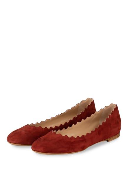 Chloé Ballerinas LAUREN, Farbe: DAWN RED (Bild 1)