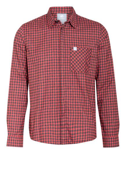 MAMMUT Outdoor-Hemd WINTER Regular Fit, Farbe: ROT/ SCHWARZ (Bild 1)