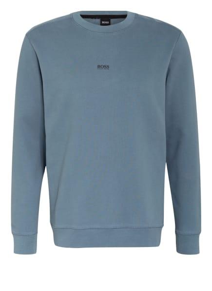BOSS Sweatshirt WEEVO, Farbe: BLAUGRAU (Bild 1)