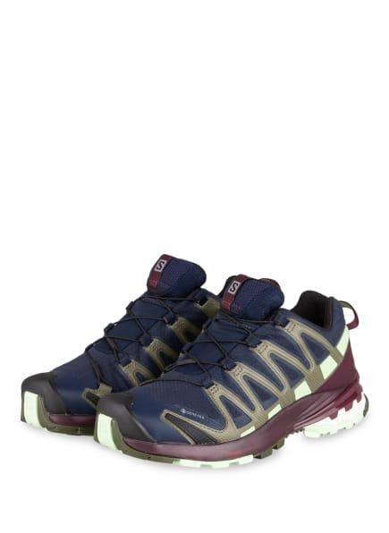 SALOMON Trailrunning-Schuhe XA PRO 3D V8 GTX, Farbe: NAVY/ SCHWARZ/ NATUR (Bild 1)