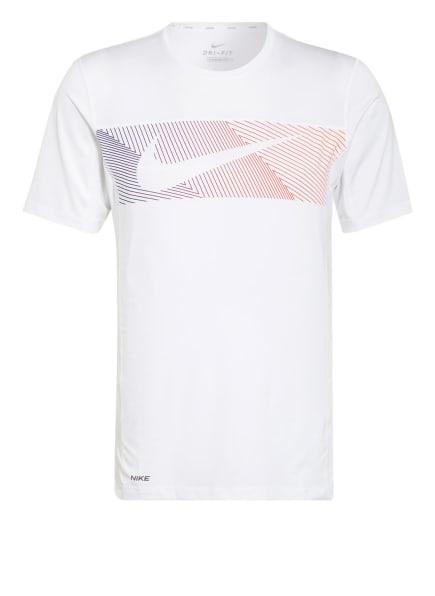 Nike T-Shirt mit Mesh-Einsätzen, Farbe: WEISS (Bild 1)