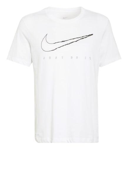 Nike T-Shirt Dri-FIT, Farbe: WEISS (Bild 1)