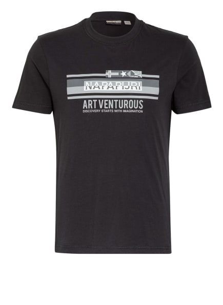 NAPAPIJRI T-Shirt SIKAR, Farbe: SCHWARZ (Bild 1)