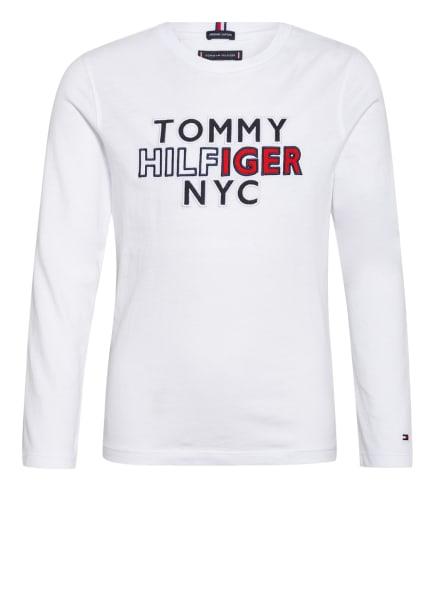 TOMMY HILFIGER Longsleeve , Farbe: WEISS (Bild 1)