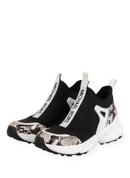 MICHAEL KORS Hightop-Sneaker WILLOW, Farbe: SCHWARZ/ WEISS (Bild 1)