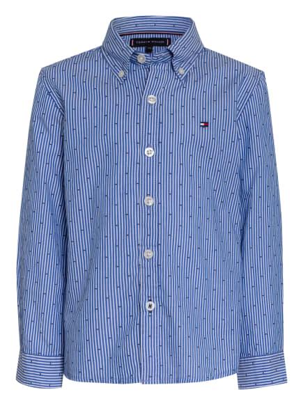 TOMMY HILFIGER Hemd , Farbe: BLAU/ WEISS GESTREIFT (Bild 1)