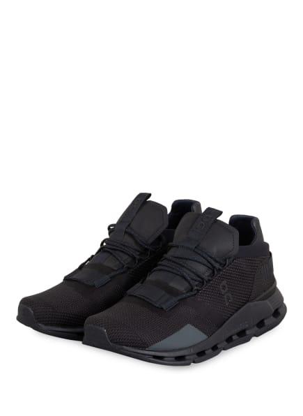 On Sneaker CLOUDNOVA, Farbe: SCHWARZ (Bild 1)