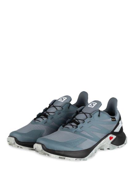 SALOMON Trailrunning-Schuhe SUPERCROSS BLAST GTX, Farbe: BLAUGRAU (Bild 1)