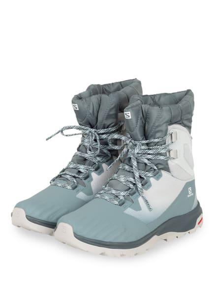 SALOMON Outdoor-Schuhe VAYA POWDER TS CSWP, Farbe: BLAUGRAU (Bild 1)