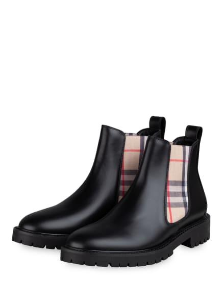 BURBERRY Chelsea-Boots, Farbe: SCHWARZ (Bild 1)