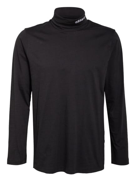 adidas Originals Longsleeve ADVENTURE BASE LAYER, Farbe: SCHWARZ (Bild 1)