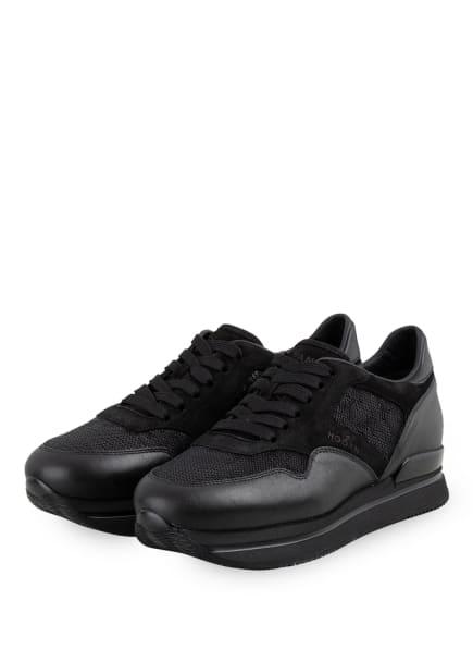 HOGAN Plateau-Sneaker H222, Farbe: SCHWARZ (Bild 1)
