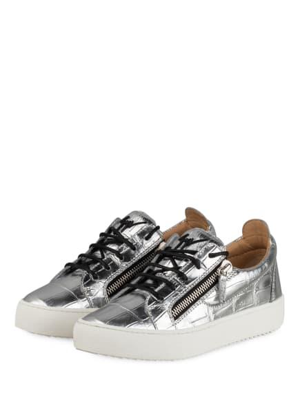 GIUSEPPE ZANOTTI DESIGN Sneaker, Farbe: SILBER (Bild 1)