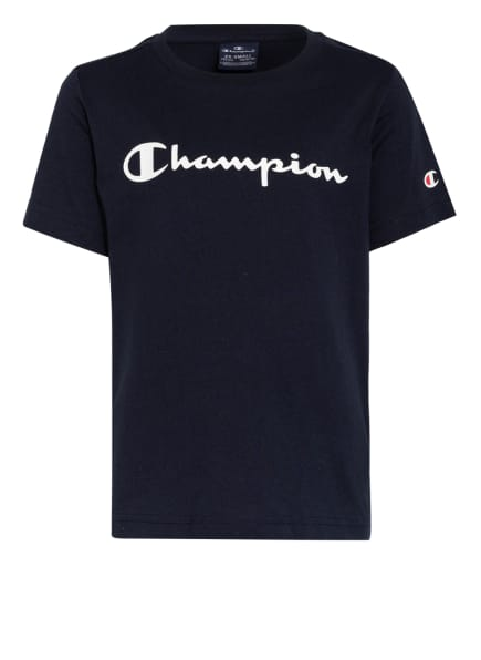Champion T-Shirt, Farbe: DUNKELBLAU (Bild 1)