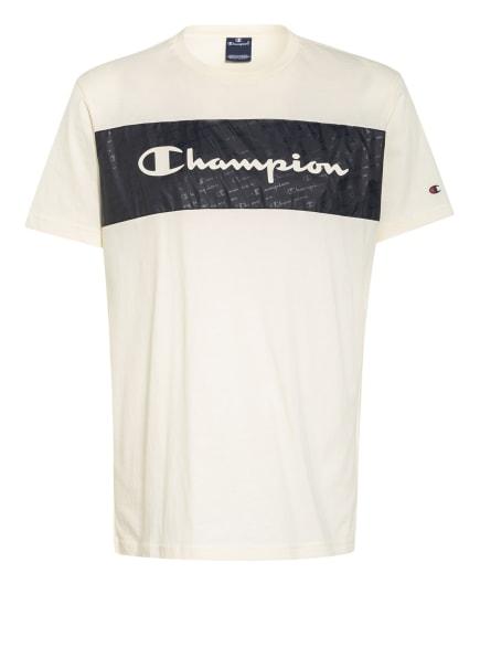 Champion T-Shirt, Farbe: OFFWHITE/ SCHWARZ (Bild 1)
