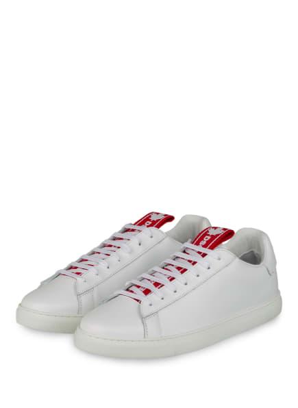 DSQUARED2 Sneaker EVOLUTION, Farbe: WEISS/ ROT (Bild 1)