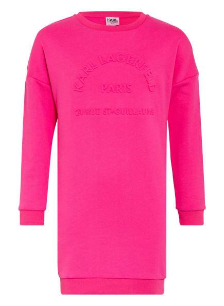KARL LAGERFELD KIDS Sweatkleid, Farbe: PINK (Bild 1)