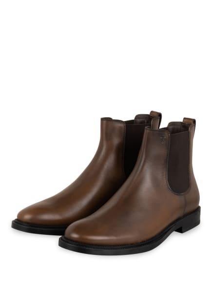 TOD'S Chelsea-Boots, Farbe: DUNKELBRAUN (Bild 1)