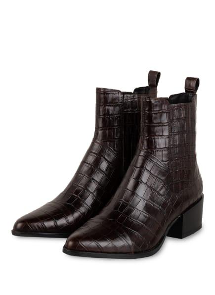 VAGABOND Chelsea-Boots, Farbe: DUNKELBRAUN (Bild 1)