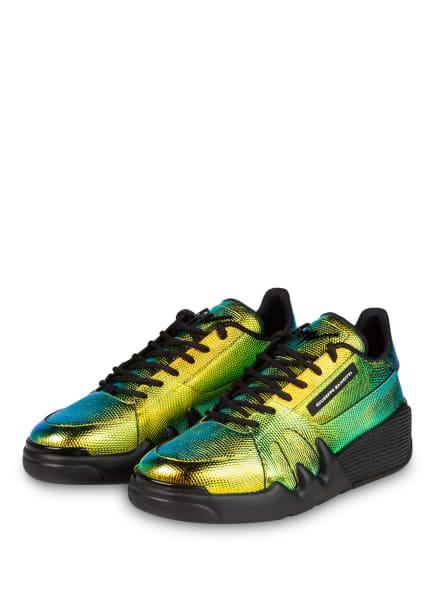 GIUSEPPE ZANOTTI DESIGN Sneaker TALON, Farbe: GOLD/ TÜRKIS (Bild 1)