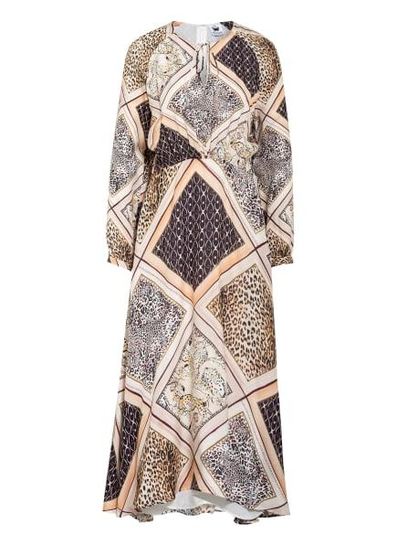 floer Kleid mit Seide, Farbe: CREME/ NUDE/ HELLBRAUN (Bild 1)