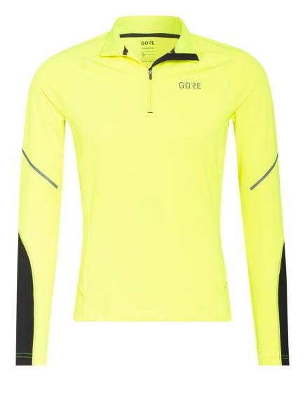 GORE RUNNING WEAR Laufshirt, Farbe: NEONGELB (Bild 1)