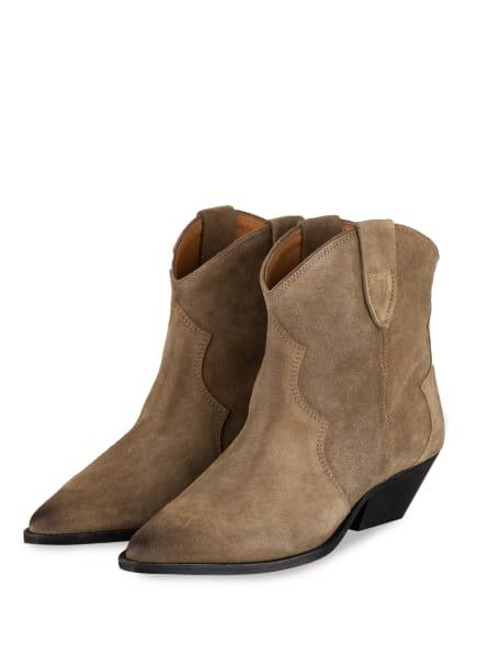 ISABEL MARANT Cowboy Boots DEWINA, Farbe: BEIGE (Bild 1)