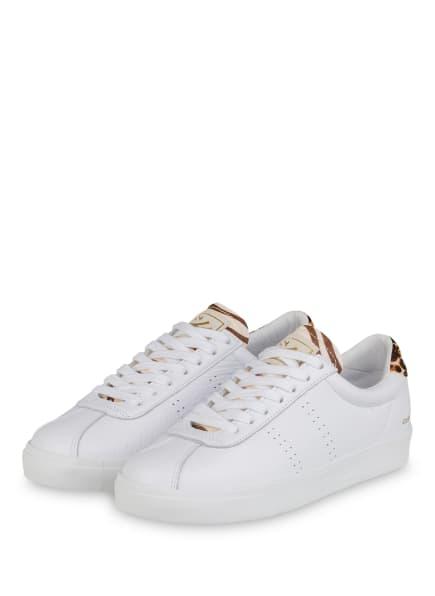 SUPERGA Sneaker 2843 CLUB S, Farbe: WEISS (Bild 1)