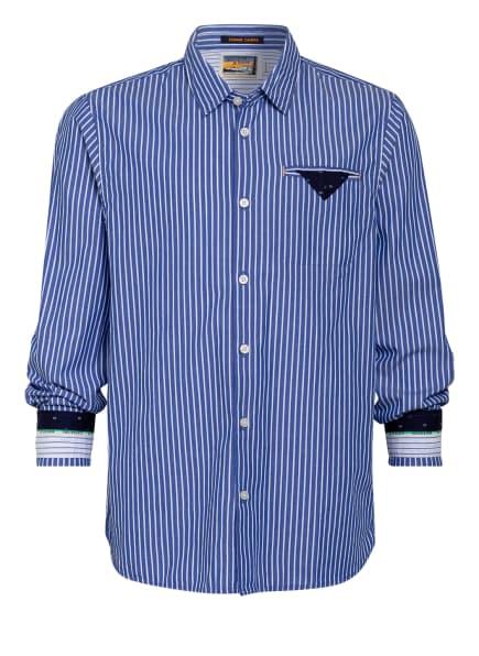 SCOTCH SHRUNK Hemd Regular Fit , Farbe: BLAU/ WEISS GESTREIFT (Bild 1)